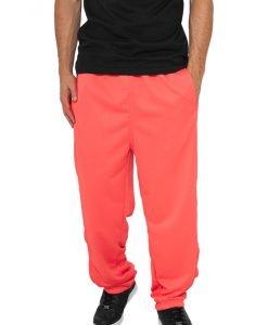 Pantaloni sport Neon rosu deschis Urban Classics - Lichidare - Urban Classics>Lichidare