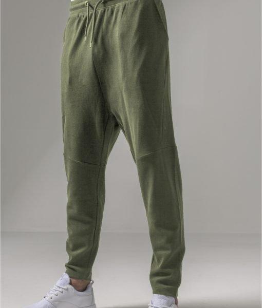 Pantaloni sport conici Interlock oliv Urban Classics – Pantaloni trening – Urban Classics>Barbati>Pantaloni trening