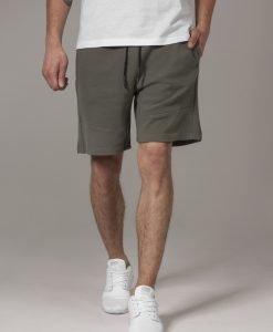 Pantaloni sport scurti Interlock oliv Urban Classics - Pantaloni scurti - Urban Classics>Barbati>Pantaloni scurti