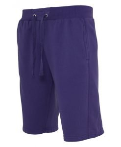 Pantaloni sport scurti Light Fleece mov Urban Classics - Lichidare - Urban Classics>Lichidare