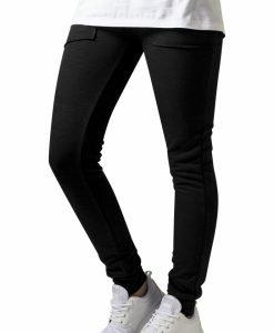 Pantaloni trening conici Fitted pentru Femei negru Urban Classics - Pantaloni trening - Urban Classics>Femei>Pantaloni trening