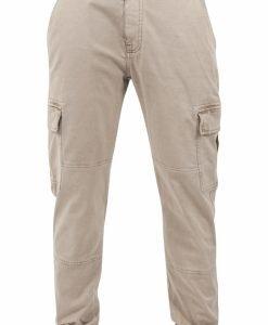 Pantaloni urban cargo cu buzunare nisip Urban Classics - Pantaloni cargo - Urban Classics>Barbati>Pantaloni cargo