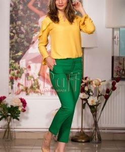 Pantaloni verzi trei sferturi - PANTALONI COLANTI - PANTALONI COLANTI > Pantaloni