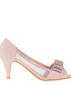 Pantofi Dama 583 bej - Incaltaminte Dama - Pantofi Dama