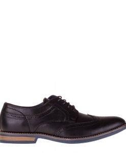 Pantofi barbati Brian negri - Incaltaminte Barbati - Pantofi Barbati
