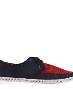 Pantofi barbati Connor negri - Incaltaminte Barbati - Pantofi Barbati
