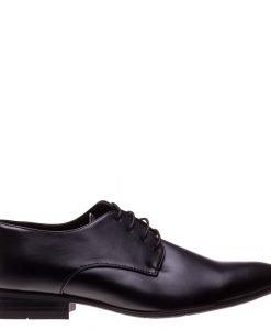 Pantofi barbati Gary negri - Incaltaminte Barbati - Pantofi Barbati