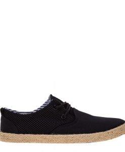 Pantofi barbati Hunter negri - Incaltaminte Barbati - Pantofi Barbati