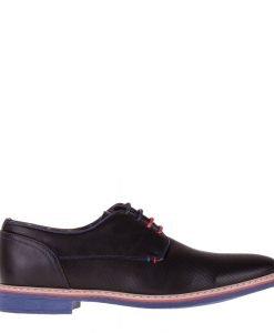 Pantofi barbati Jam negri - Ultima Marime - Ultima Marime