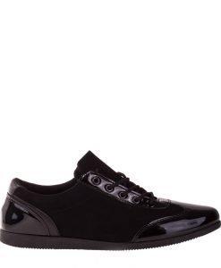 Pantofi barbati Lars negri - Incaltaminte Barbati - Pantofi Barbati