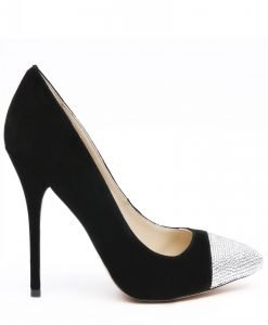 Pantofi cu detalii stralucitoare Negru - Incaltaminte - Incaltaminte / Pantofi cu toc