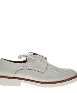 Pantofi dama Betsy albi - Incaltaminte Dama - Pantofi Dama