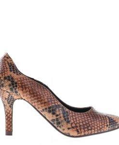 Pantofi dama Clara camel - Incaltaminte Dama - Pantofi Dama