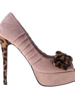 Pantofi dama Corey roz - Incaltaminte Dama - Pantofi Dama