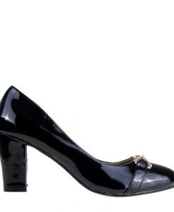 Pantofi dama Denisia negri - Incaltaminte Dama - Pantofi Dama