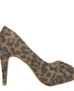 Pantofi dama Ebha aurii - Incaltaminte Dama - Pantofi Dama