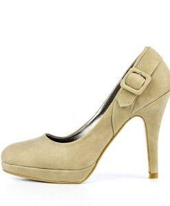 Pantofi dama Elvira khaki - Ultima Marime - Ultima Marime