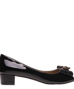 Pantofi dama Eneida negri - Incaltaminte Dama - Pantofi Dama