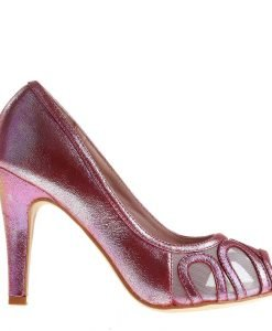 Pantofi dama Eris fucsia - Incaltaminte Dama - Pantofi Dama