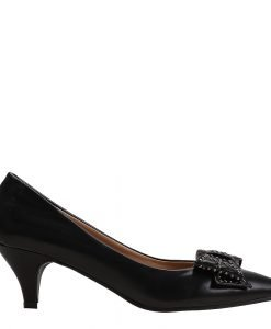 Pantofi dama Gale negri - Ultima Marime - Ultima Marime