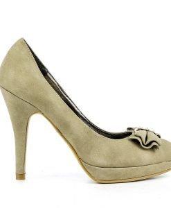Pantofi dama Ginger 2 khaki - Promotii - Lichidare Stoc