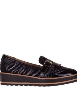 Pantofi dama Janay negri - Incaltaminte Dama - Pantofi Dama