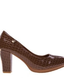 Pantofi dama Jemma khaki - Incaltaminte Dama - Pantofi Dama
