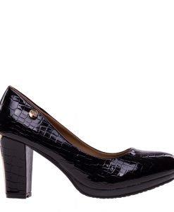 Pantofi dama Jemma negri - Incaltaminte Dama - Pantofi Dama