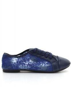 Pantofi dama June albastri - Promotii - Lichidare Stoc