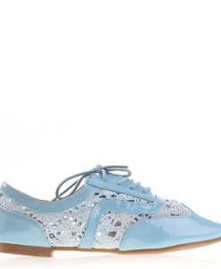 Pantofi dama Keryn albastri - Incaltaminte Dama - Pantofi Dama