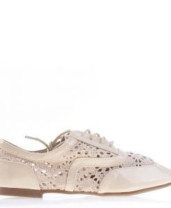 Pantofi dama Keryn bej - Ultima Marime - Ultima Marime