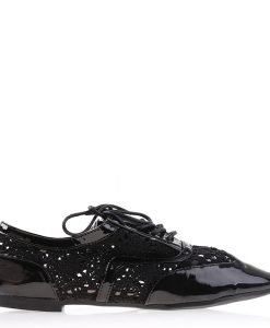 Pantofi dama Keryn negri - Ultima Marime - Ultima Marime
