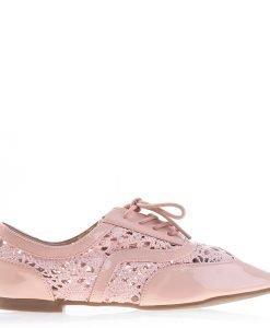 Pantofi dama Keryn roz - Incaltaminte Dama - Pantofi Dama