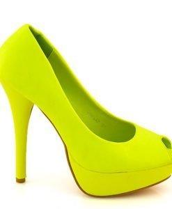 Pantofi dama Kimmy galbeni - IMPORT - Reduceri explozive