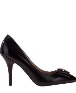 Pantofi dama Kitty negri - Incaltaminte Dama - Pantofi Dama