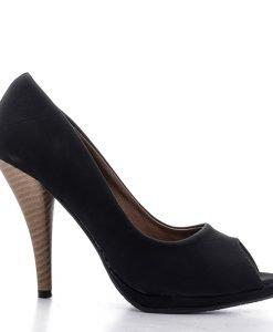 Pantofi dama Kristen negri - Ultima Marime - Ultima Marime