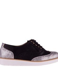 Pantofi dama Leonarda negri - Incaltaminte Dama - Pantofi Dama