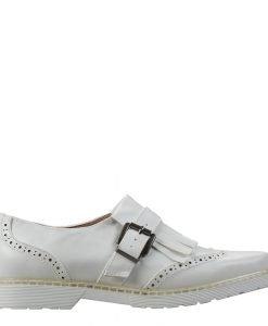 Pantofi dama Malinda albi - Incaltaminte Dama - Pantofi Dama
