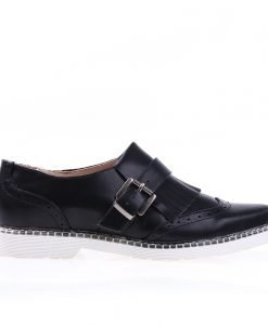 Pantofi dama Malinda negri - Incaltaminte Dama - Pantofi Dama