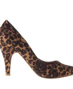 Pantofi dama Marcela camel - Incaltaminte Dama - Pantofi Dama