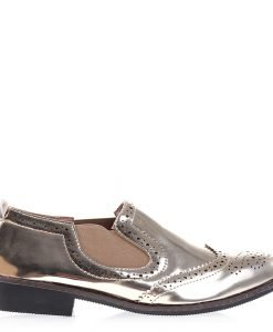 Pantofi dama Mattie aurii - Incaltaminte Dama - Pantofi Dama