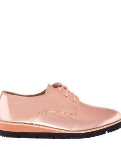 Pantofi dama Najira bej sampanie - Incaltaminte Dama - Pantofi Dama