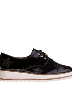 Pantofi dama Nubia negri - Incaltaminte Dama - Pantofi Dama