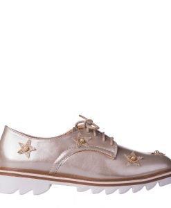 Pantofi dama Nunila bej - Incaltaminte Dama - Pantofi Dama
