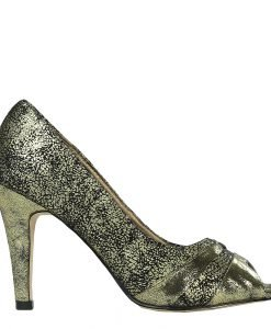 Pantofi dama Odalis aurii - Incaltaminte Dama - Pantofi Dama