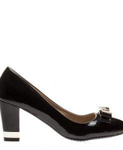 Pantofi dama Perea negri - Incaltaminte Dama - Pantofi Dama