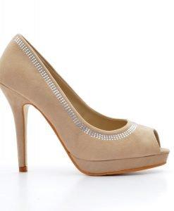 Pantofi dama Pierce 2 bej - Promotii - Lichidare Stoc