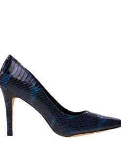 Pantofi dama Rosalina albastri - Incaltaminte Dama - Pantofi Dama