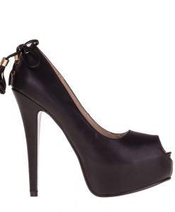 Pantofi dama Sharon negri - Incaltaminte Dama - Pantofi Dama