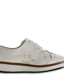 Pantofi dama Shirley albi - Incaltaminte Dama - Pantofi Dama